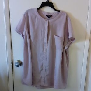 Simply Vera Vera Wang beautiful lilac blouse